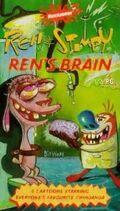 Ren & Stimpy Ren's Brain VHS