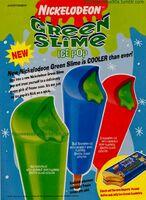 Nickelodeon Green Slime Popsicles Print ad