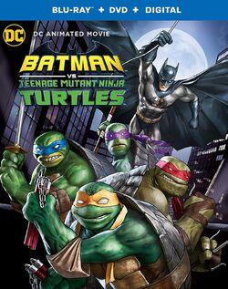 Batman vs TMNT Blu-ray