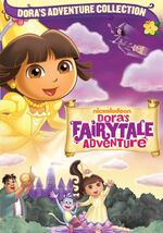 Dora the Explorer Dora's Fairytale Adventure DVD 2