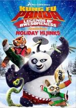 Kung Fu Panda - Legends Of Awesomeness - Holiday Hijinks 2014 DVD Cover