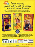 Nick Jr. on Videocassette by Sony Wonder Print Ad