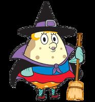 SpongeBob SquarePants Mrs. Puff Halloween Costume Character Image Nickelodeon