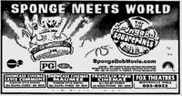 Spongebob Squarepants Movie ad