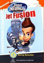 Jimmy Neutron Jet Fusion DVD