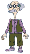 Grandpa Lou Pickles without shoes