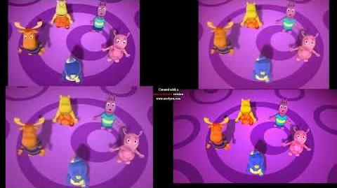 The Backyardigans Intro Comparsion Seasons 1-4