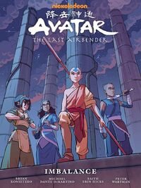 Avatar The Last Airbender Imbalance Book