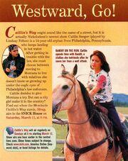 Caitlins Way Ooze News NickMag March 2000