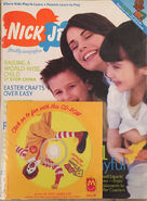 Nick Jr Magazine cover April May 2003 sealed