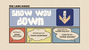 Snow Way Down Title card