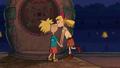 Arnold and Helga finally kiss.png
