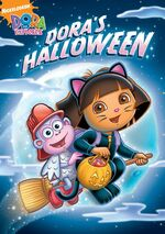 Dora the Explorer Dora's Halloween DVD 2