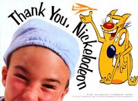 CatDog Thank You Nick Advertisement