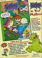 Rugrats Comic Adventure Print ad Nick Mag June-July 1998