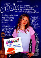 Unfabulous Addie Singer print ad Nick Mag Presents Nov 2004