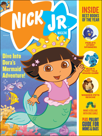 Image - Nick Jr Magazine cover Nov 2007.jpg | Nickelodeon | FANDOM ...