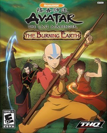 Avatar - The Last Airbender - The Burning Earth Coverart