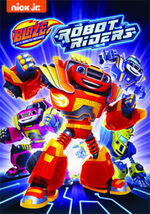 Blaze and the Monster Machines Robot Riders DVD