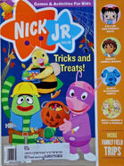 Nick Jr Magazine cover October 2008