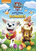 Paw Patrol Pups Save the Bunnies DVD