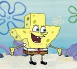 SpongeBob as texas