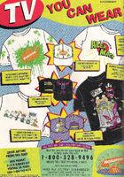 1996 Nickelodeon merchandise print ad