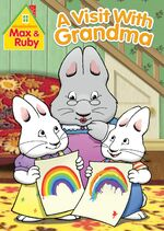 Max & Ruby - A Visit With Grandma DVD Cover
