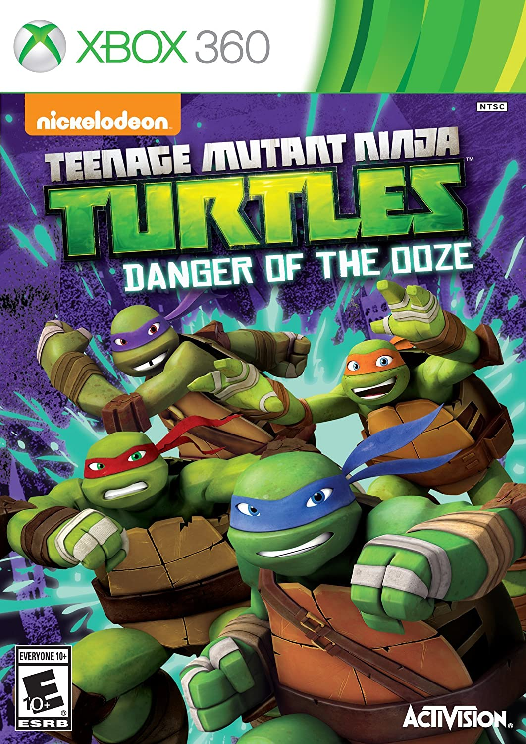 TMNT Danger of the Ooze for Xbox 360