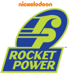 Rocket Power logo (with 2009 Nickelodeon watermark)