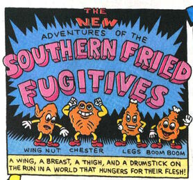 Southern fried fugitives intro panel wing nut chester legs boom boom