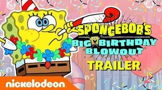 SpongeBob's Birthday Blowout EXTENDED Trailer! 🎂 Nick