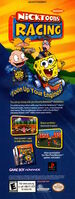 Nicktoons Racing Gameboy advertisement Nickelodeon Magazine June July 2002