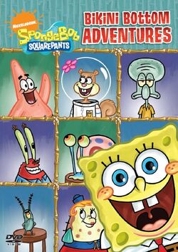 SpongeBob DVD - Bikini Bottom Adventures