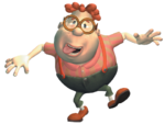 Carl goofy