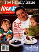 Nick Jr Family Magazine cover Nov 2006