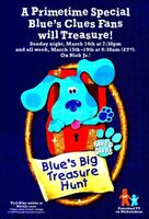 Blue's Big Treasure Hunt Print Advertisement