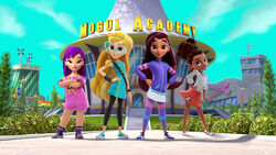 Middle School Moguls characters