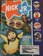 Nick Jr Magazine cover April 2008