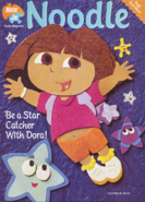 Nick Jr Magazine Noodle cover October 2003