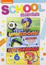 Team Umizoomi Umigames DVD School Essentials