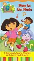 Dora the Explorer Move to the Music VHS