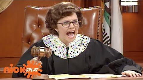 Judge Trudy Halloween Edition The Amanda Show NickSplat