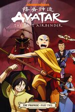 Avatar The Last Airbender The Promise Part Two Book