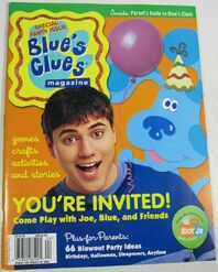 Blues Clues Special 2 Magazine Summer Fall 2002