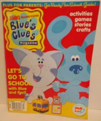 Blues Clues Special 3 Magazine cover Summer Fall 2003