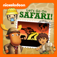 Nickelodeon - Let's Go On Safari! 2013 iTunes Cover