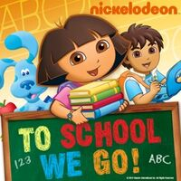 Nickelodeon - To School We Go! 2010 iTunes Cover