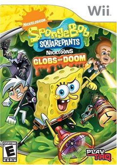 Nicktoons Globs of Doom Wii