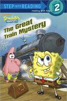 SpongeBob The Great Train Mystery Book